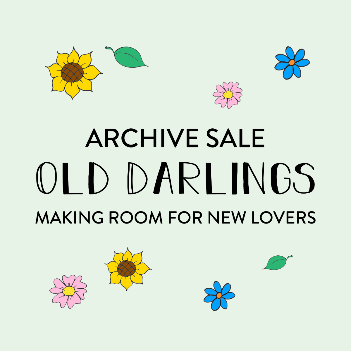 Old Darling Archive Sale
