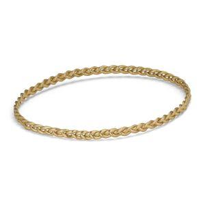 Braided Bracelet, 18 karats guld
