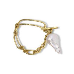 Pearl Bridle Bracelet, 18 karats guld