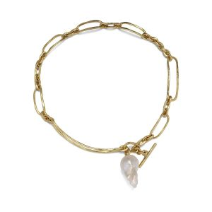 Pearl Bridle Necklace, 18 karats guld