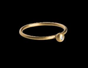 Princess Ring, förgyllt sterling silver