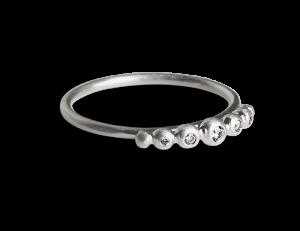 Big Diadem Ring, sterlingsilver
