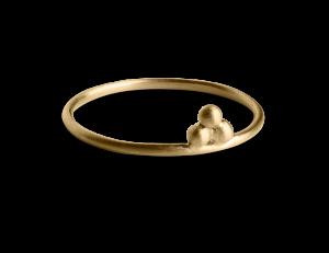 Temple Ring, förgyllt sterling silver