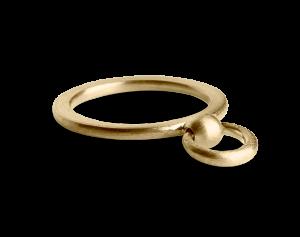 Septum Ring, förgyllt sterling silver