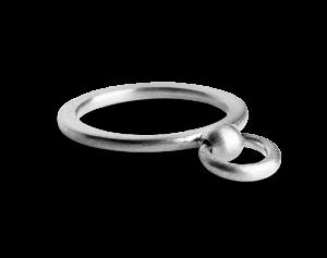 Septum Ring, sterling silver