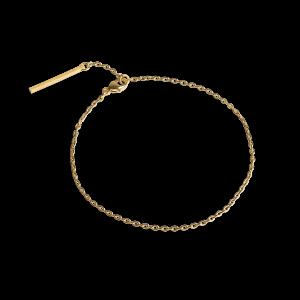 Anchor Chain  Bracelet, förgyllt sterlingsilver