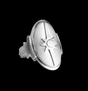 Shield Ring, sterlingsilver