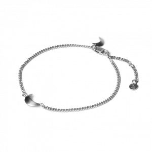 Half Moon Bracelet, armband, sterlingsilver