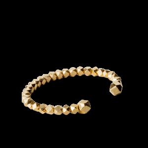 Chunky Bead Bracelet, förgyllt sterlingsilver