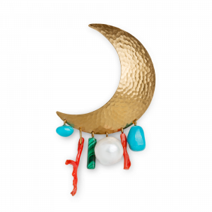 Big Moon Earring