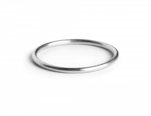 Simple Ring, sterling silver