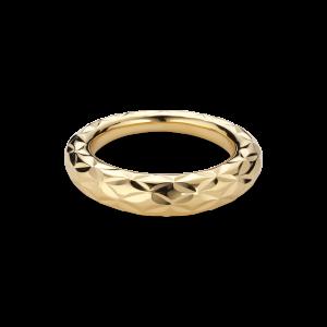 Big Impression Ring, förgyllt sterlingsilver