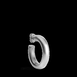 Large Chunky Hoop, sterlingsilver