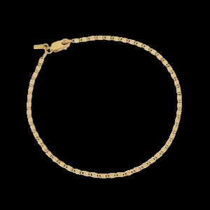 Envision S-Chain Bracelet, förgyllt sterlingsilver