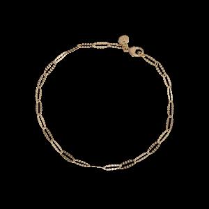 Navette bracelet Trace, 2.4 mm., 18 karat guld