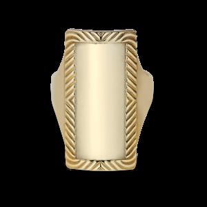 Impression Armour Ring, förgyllt sterlingsilver