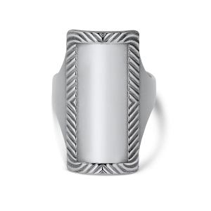 Impression Armour Ring, sterlingsilver