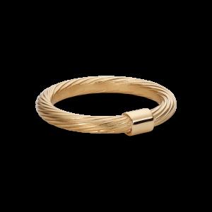 Medium Salon Ring, förgyllt sterlingsilver