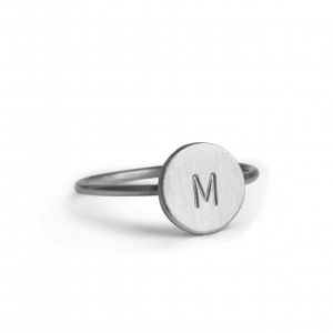 Lovetag Ring, sterlingsilver