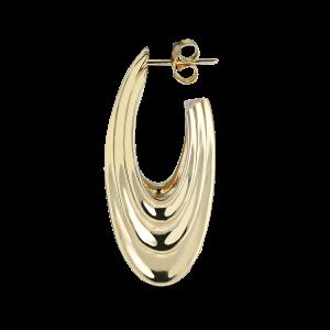 Sculpture Earring, förgyllt sterlingsilver