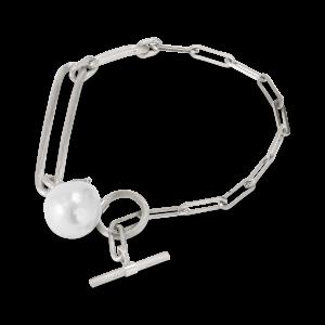 Salon Pearl armband, sterlingsilver