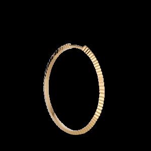 Reflection Midi hoop, förgyllt sterlingsilver