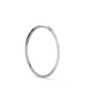 Reflection hoop, sterlingsilver