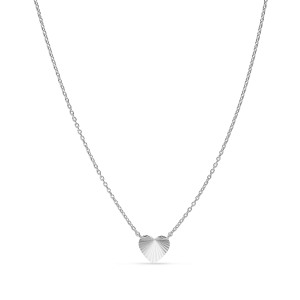 Reflection Heart necklace, sterlingsilver