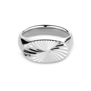 Reflection Signet ring, sterlingsilver