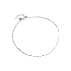 Souvenir Anklet, sterlingsilver