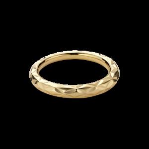 Small Impression Ring, förgyllt sterlingsilver