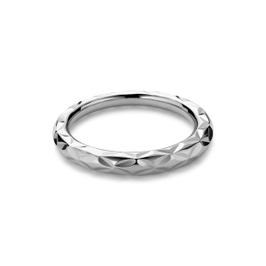 Small Impression Ring, sterlingsilver