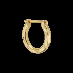 Tiny Rhombus Earring, förgyllt sterlingsilver