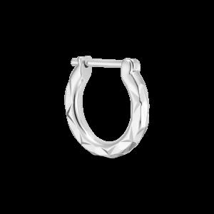Tiny Rhombus Earring, sterlingsilver
