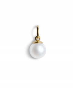 Small Pearl Pendant, förgyllt sterling silver