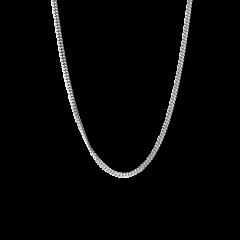 Razor Joe, rhodinated sterling silver