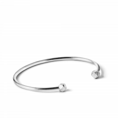 Simple Bead Bracelet, armband, sterlingsilver