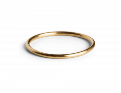 Simple Ring, förgyllt silver