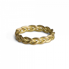 Medium Braided Ring