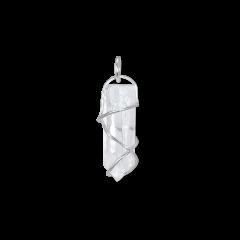 F+E Crystal Pendant, sterlingsilver