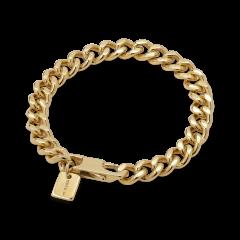 F+E Chain Bracelet, förgyllt sterlingsilver