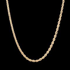 F+E Chain Necklace, förgyllt sterlingsilver