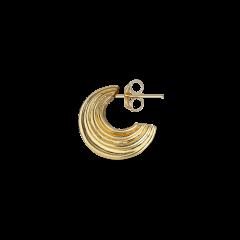 Small Sculpture Earring, förgyllt sterlingsilver