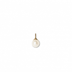 Pearl pendant,18-karat gold