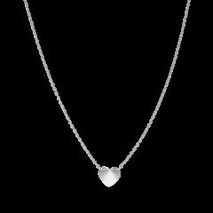 Reflection Heart necklace, sterlingsilver