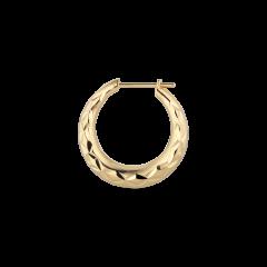 Reflection Rhombus earring, förgyllt sterlingsilver