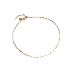 Souvenir Anklet, förgyllt sterlingsilver
