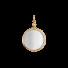 Souvenir Medallion, förgyllt sterlingsilver