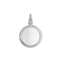 Souvenir Medallion, sterlingsilver