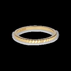 Small Reflection ring, förgyllt sterlingsilver